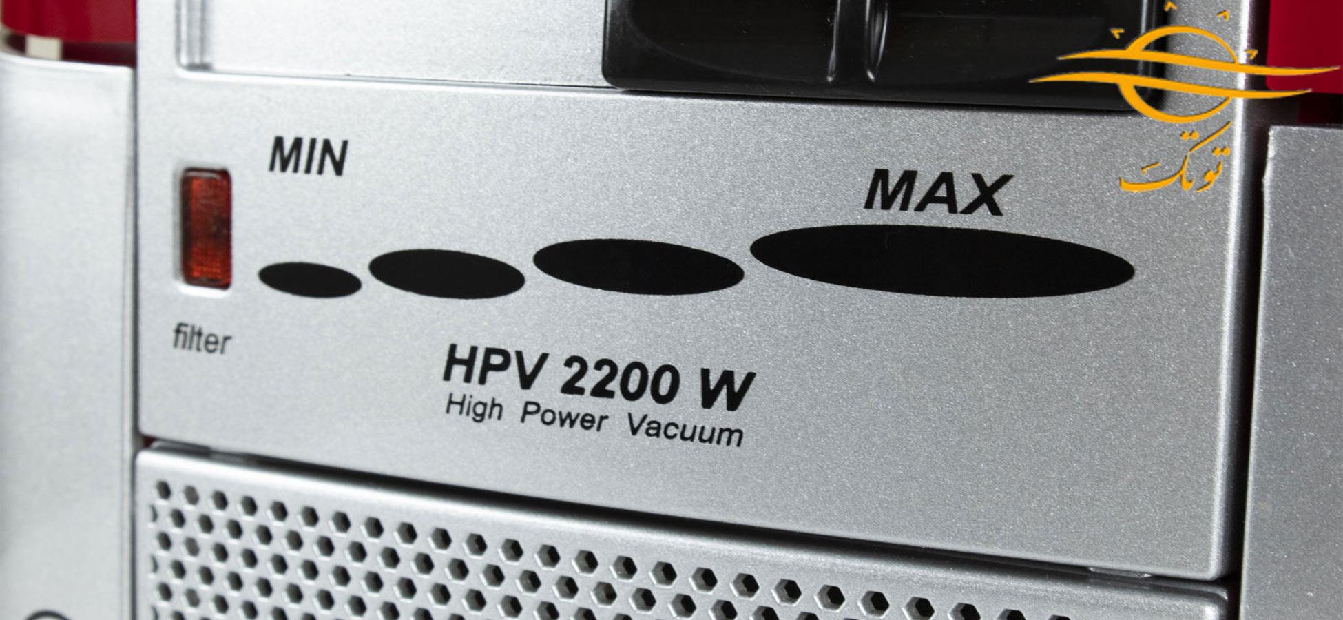پاکت جاروبرقی خزر مدل HPV 2200W