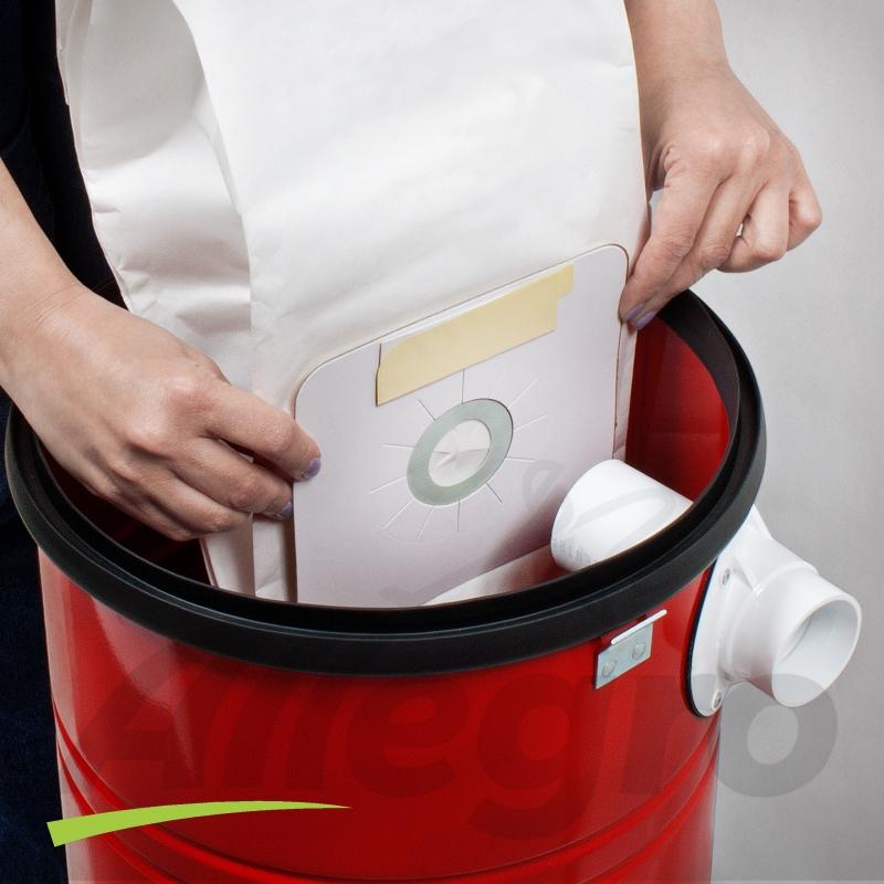 انواع پاکت جاروبرقی سطلی